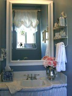 Bathroom Blue Bathroom Design, Pictures, Remodel, Decor and Ideas - page 7