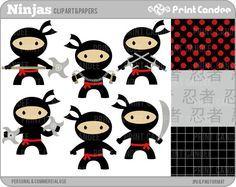 ninja clipart and printables - Google Search