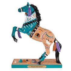 Trail of Painted Ponies Navajo Sand Painter Figurine