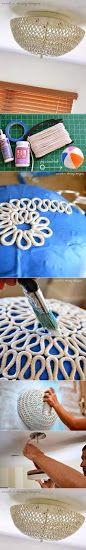 Cool Rope Lamp