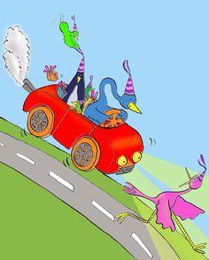 Party Folk by Emily Trotter Illustration