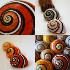 snails - SPIRALS!!!!