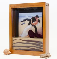 Natural Honey Unity Sand Ceremony Picture Frame - In Stock! SALE Save 15% off any of our Forever Frames with the coupon code FRAME15. Excludes personalized frames. Only available on frames that begin with product code FF.