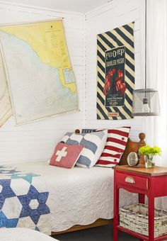 Antique-Styled Guest Bedroom