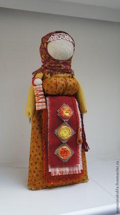 """Народные куклы ручной работы. Ярмарка Мастеров - ручная работа Берегиня дома """"Поцелуй солнца"""". Handmade."""