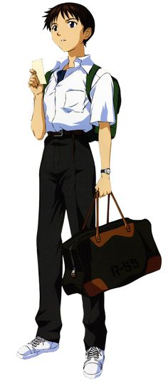 Shinji Ikari, Evangelion