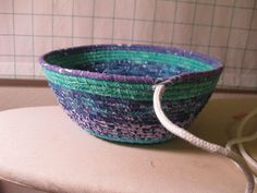 fabric coil basket tutorial--starts on page 1 and finishes on page 3.