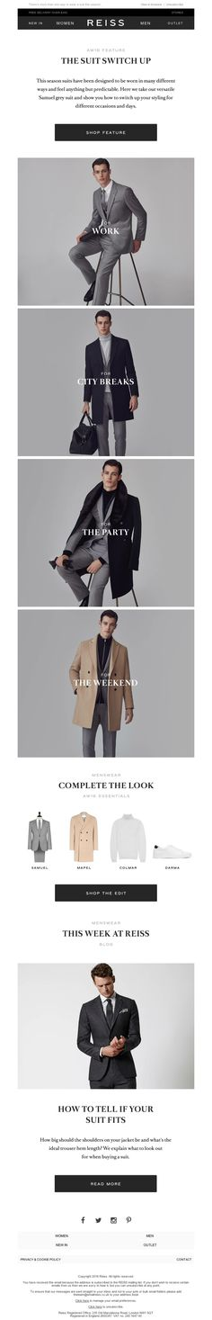Reiss - Up The Impact: Party Season Perfected