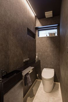 Washroom Design, Toilet Design, Bathroom Interior Design, Japanese Modern, Japanese House, Ideas Baños, Sweet Home Design, Modern Toilet, Studio Room