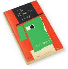 The Acquisitive Society by Tawney / Harvest  (1962 or 1963?) / Cover Paul Rand