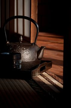 »✿❤Chocolate Brown❤✿« Japanese iron kettle