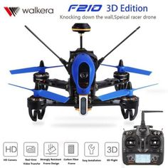 Original Walkera F210 3D Edition RC #Drone w/700TVL Cams &OSD Devo 7 Transmitter #Tech On Ebay