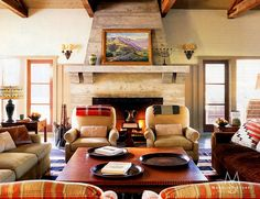 Madeline Stuart - Interiors - Santa Barbara Ranch