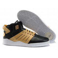 75f3cb7c508e Find Supra Skytop III Mens Black Gold White For Sale online or in  Footlocker. Shop Top Brands and the latest styles Supra Skytop III Mens  Black Gold White ...