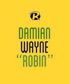 """DAMIAN WAYNE """"ROBIN"""""""