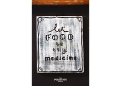 Let food be thy medicine Ancient Greek Quotes, Wooden Signs With Sayings, Medicine, Positivity, Hand Painted, Let It Be, Food, Medical, Meals
