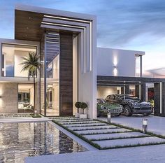 Luxury Homes Modern . 9 New Luxury Homes Modern . Slider 1 Villa Ideas Luxury Modern Homes Modern House Modern Architecture House, Architecture Design, Modern Buildings, Residential Architecture, Modern Villa Design, Contemporary Design, Modern Mansion, Modern Homes, Small Modern Houses