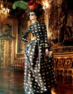 Women's Editorial - ALL THE RICHES A GIRL CAN HAVE photography by Giampaolo Sgura for Vogue Japan Oct 2012 - HUF Magazine Editor's Pick