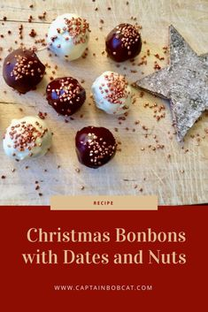 Christmas Bonbons With Dates And Walnuts