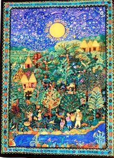 'Comercio justo', Beatriz Aurora, 46 x 34 cm, México / arte, pintura zapatista, EZLN