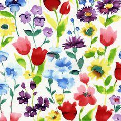 Dear Stella - Multi Spring Street Cotton Shirting - cotton fabric