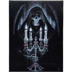 Candelabra Canvas by Anne Stokes via Gothotic. Click on the image to see more!