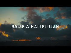 Raise A Hallelujah (Lyrics) ~ Bethel Music Hallelujah Lyrics, Great Song Lyrics, Worship Songs, Praise And Worship, Worship God, Christian Song Lyrics, Christian Music, Bethel Music, Bethel Lyrics