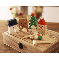【angers】迷你木質槌球遊戲聖誕玩具(商品重500g/組)