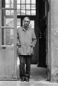 Roland Barthes por Daniel Boudinet