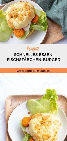 #SchnellesEssen #Rezept #Fischstäbchen #Burger #SchnellesRezept #Familienessen #Kinderessen