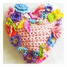 Spring Heart made by Nicky Miranda