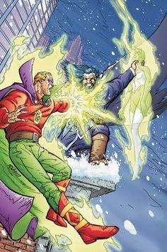 Green Lantern (Alan Scott)by Scott Kolins Comic Book Artists, Comic Artist, Comic Books, Green Lantern Corps, Green Lanterns, Vandal Savage, Dc Comics, Science Fiction, Alan Scott