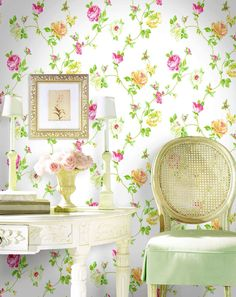 Home Wallpaper, Heart Wallpaper, Pretty Wallpapers, Beautiful Wallpaper, Spring Home, Cottage Style, Cottage Living, Cottage Chic, Soft Furnishings