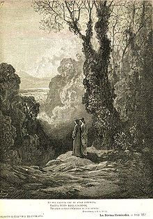 La Divina Commedia - The first lyric of Purgatory illustrated by Gustave Doré