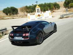 Bugatti Veyron SS