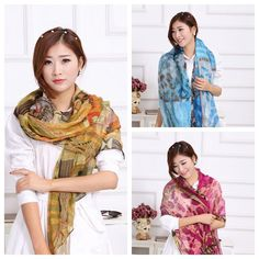 Find More Scarves Information about 2015 High Quality Wowan Scarf Cotton Voile Scarvesr Printed Long Scarf Shawl 180*80 CM,High Quality shawl cashmere,China shawls womens Suppliers, Cheap scarf flower from Smile Love Town on Aliexpress.com