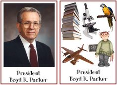 General Conference Memory Game - get to know the Apostles match game