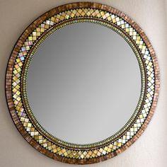(48) Fab.com   Elegant Mosaic Mirrors