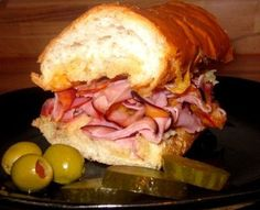 Super Bowl recipes: Super easy toasted ham & cheese party sandwich