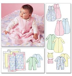 6-18 mos Infants' Buntings, Jumpsuits, Hats and Blanket M4236