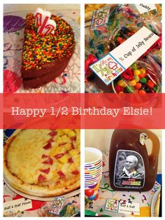 Half birthday This could be fun to do with adopted kids to make more memories. Happy Half Birthday, Kylie Birthday, Baby Girl Birthday, Sons Birthday, 2nd Birthday Parties, Baby Birthday, Birthday Celebrations, Birthday Ideas, Happy Unbirthday