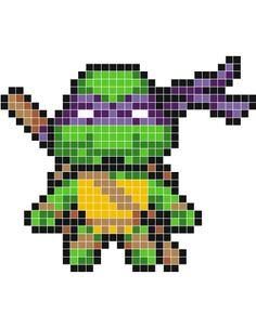 pixel art tortue