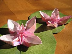 Origami Lillies