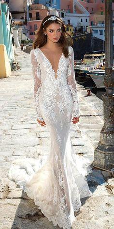 Collections From Top Wedding Dress Designers ❤ See more: http://www.weddingforward.com/wedding-dress-designers/ #weddings