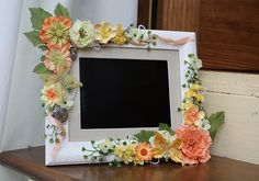 Altered digital photo frame