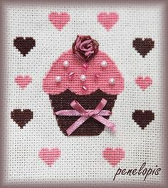 Penelopis' cross stitch freebies: Korona / Crown