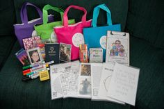 Reverent Church bags for sacrament meeting. LDS. Mormon. Quiet activities. Scripture bag.