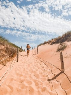 If anyone is thinking about a PEI vacation this summer. Basin Head, Greenwich and Panmure are truly spectacular beaches, I can vouch. East Coast Canada, Prince Edward Island, Basin, Monument Valley, Beaches, Travel Tips, Places To Go, Road Trip, Bucket
