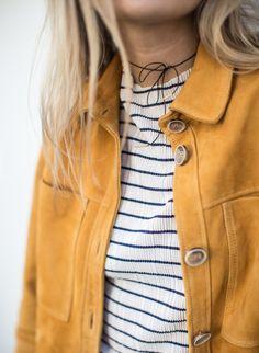 Inspiration mode 2016: marinière et jaune moutarde