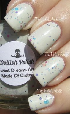 Dollish Polish Sweet Dreams Are Made Of Glitter $8
